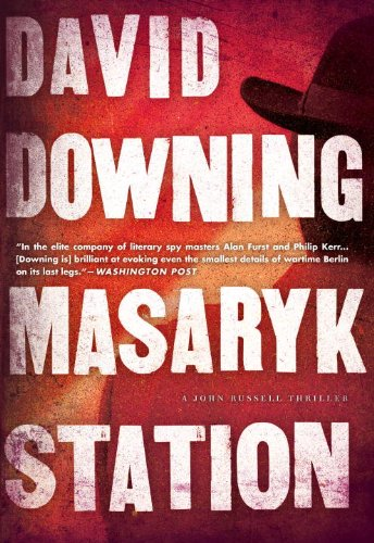 Masaryk Station (John Russell World War II Spy Thriller #6) (A John Russell WWII Spy Thriller)