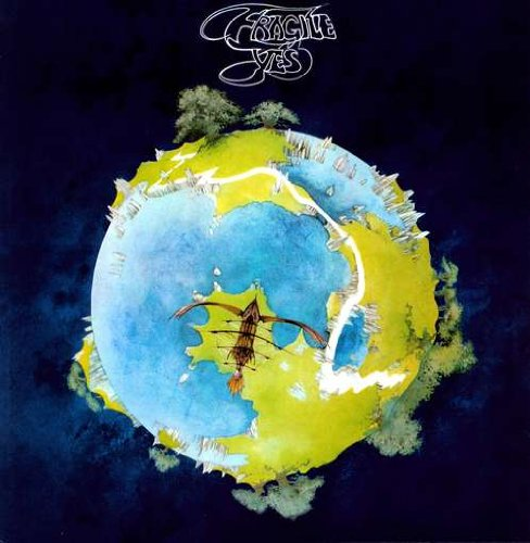 Original album cover of Fragile by Yes