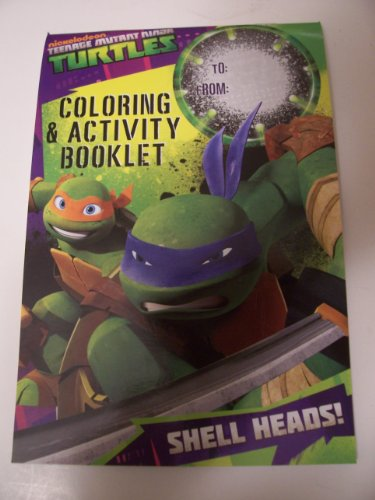 Teenage Mutant Ninja Turtles Coloring & Activity Pad ~ Shell Heads!