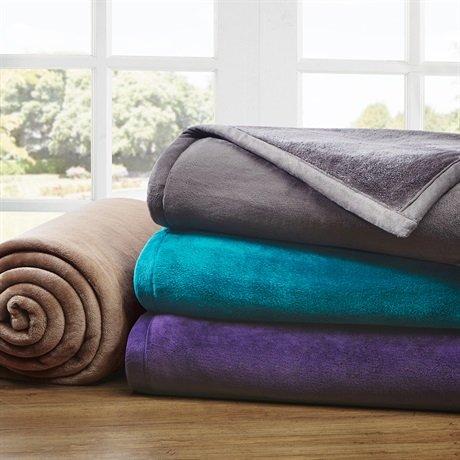 Purple Plush Blanket front-993271