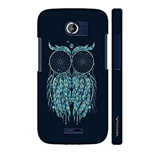 Micromax Canvas A117 Dream owl catcher designer mobile hard shell case by Enthopia