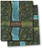 River Crossing: Gamemastery Flip-mat(Paizo Staff)