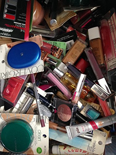 Wholesale Makeup Assorted Lot (100 Piece Set) ~ L'Oreal Maybelline Covergirl Sally Hansen Almay Revlon & More Name Brand Cosmetics front-739283