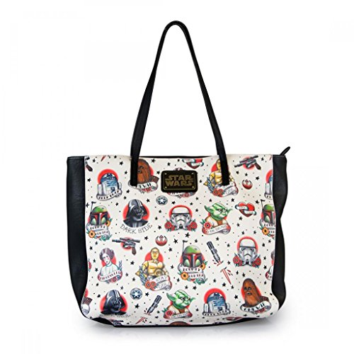 Loungefly Star Wars Tattoo Flash Tote Bag