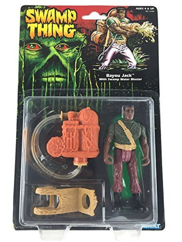 Swamp Thing Bayou Jack with Swamp Water Blaster