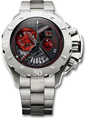 Zenith Defy Xtreme Grande Date-Stealth Men's Watch 95-0527-4039-01-M530