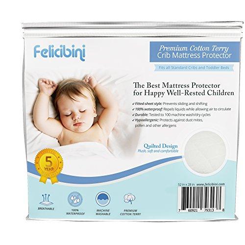 Felicibini Baby Mattress Protector for Cribs - 1
