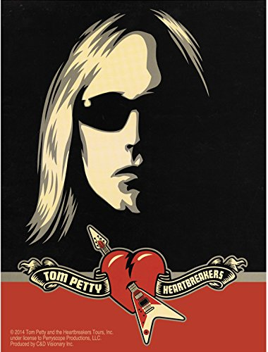 C&D Visionary Tom Petty Sunglasses Sticker - 1