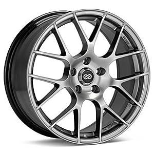Enkei RAIJIN- Tuning Series Wheel, Hyper Silver (19×8.5″ – 5×114.3/5×4.5, 35mm Offset) One Wheel/Rim