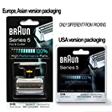 Braun Series 5 Combi 51s Foil And Cutter Replacement Pack (Formerly 8000 360 Complete Or Activator)