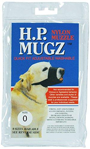 Artikelbild: Hamilton Weiche Hund Maulkorb Schwarz 4bis 4-15,1cm-hpm-0