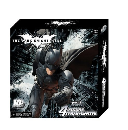 The Dark Knight Rises 4 Figure Mini-game Heroclix Wizkids 10th Anniversary by HeroClix