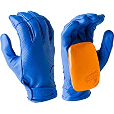 Sector 9 Driver II Blue Small / Medium Slide Gloves Downhill Slide Gloves
