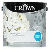 Crown Breatheasy Emulsion Paint - Matt - Spotlight - 2.5L