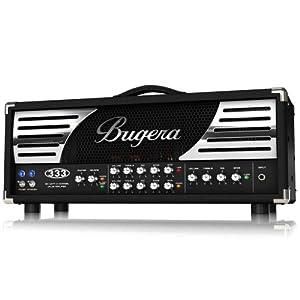 Bugera 333 120-Watt 3-Channel Valve Amplifier Head with Reverb