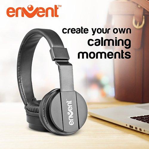 Envent LiveFun 560 - Stereo Bluetooth headphone with Mic