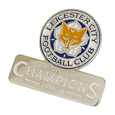 Leicester City Champions Crest Pin Badge