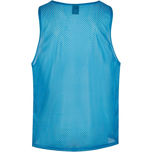 2XL Sports Pinnies Scrimmage Vests Training Bibs Set of 12 in Large or 2XL for Youth Teens and Adult from Pozession Sports