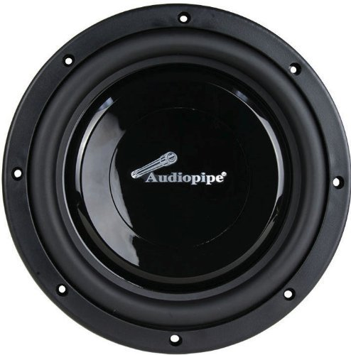 Audiopipe 8 Shallow Mount Subwoofer, Sold Each