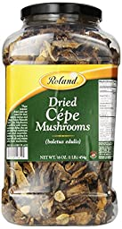Roland Dried Mushrooms, Cepes, 16 Ounce