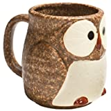 Stoneware Owl Mug
