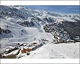 Photographic Print of Meribel-Mottaret, 1750m, ski area, Meribel, Three Valleys Les Trois Vallees) from Robert Harding