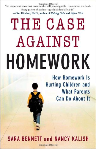Less homework for kids
