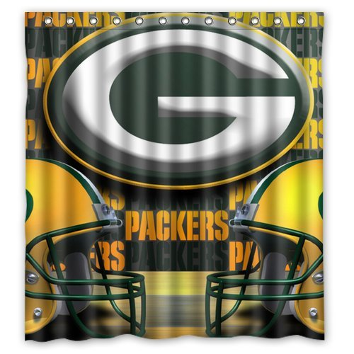 Packers Shower Curtains Green Bay Packers Shower Curtain Packers Shower Curtain
