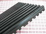 防音 防振マット (厚み)1cm×約10cm×15cm(黒)4枚セット