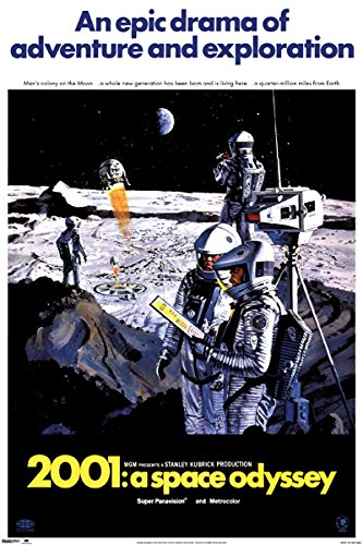 2001 A Space Odyssey Movie Poster 24