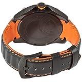 Stuhrling Original Men's 264XL.335R557 Gen-X-Sport Quartz Orange and Black Dial Watch