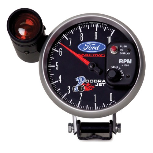 Auto Meter 1695 Old Tyme White 3-1//8 7000 RPM Tachometer Gauge