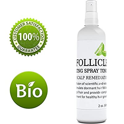 Hair Tonic for Hair Growth - All Natural Hair Loss Treatment for Men and Women - Hair Thickening - Hair Shedding Product - Stimulate Hair Regrowth with Coconut Oil Argan Tea Tree Oil Evening Primrose