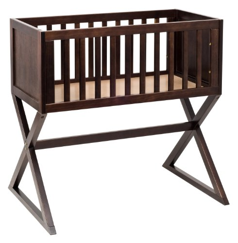 New babyletto Bowery Bassinet, Espresso