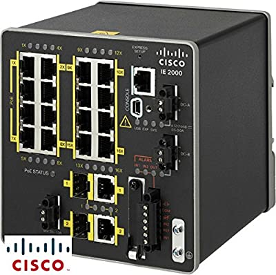 Cisco IE-2000-16TC-L Ethernet Switch