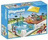 PLAYMOBIL Swimming Pool with Terrace Play Set