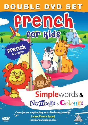 French for Kids DVD Set 2011: Simple Words DVD & Number and Colours DVD