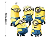 5 Minions Despicable Me Removable Wall Stickers Decal Home Decor Kids Room