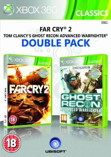 Ubisoft Double Pack - Far Cry 2 and Ghost Recon Advanced Warfighter  (Xbox 360)