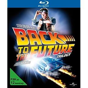 Zurück in die Zukunft - 25th Anniversary Trilogie (inkl. Miniatur DeLorean) [blu-ray]