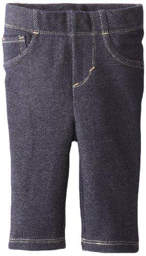 Levi's Newborn Baby-Girls - 9527 Essential Knit Legging, Indigo, 6/9 Months