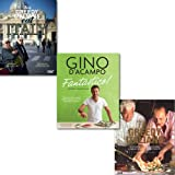 Antonio Carluccio & Gennaro Contaldo Italinas Cookbooks Collection 3 Books Set, (Two Greedy Italians Eat Italy and Two Greedy Italians [paperback] Fantastico!: Modern Italian Food