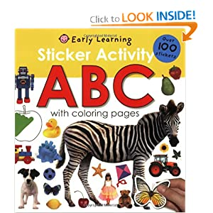 Sticker Activity ABC (Early Learning) Roger Priddy