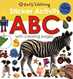 Roger Priddy Sticker Activity: ABC [With Over 100 Stickers] (Early Learning)