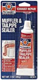 Permatex 80335-12PK Muffler and Tailpipe Sealer - 3 oz., Pack of 12