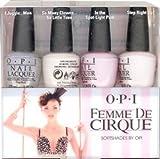 OPI Femme De Cirque SoftShades 2011 Mini Nail Lacquers Set, 1- 4 pc set - Best Reviews Guide