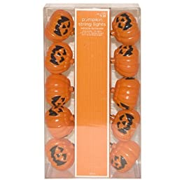 Jack-O'-Lantern Novelty String Lights - 10' : Target