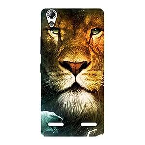 Ajay Enterprises King Of LionS Back Case Cover for Lenovo A6000