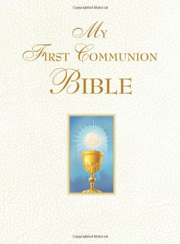 Download My First Communion Bible (White)