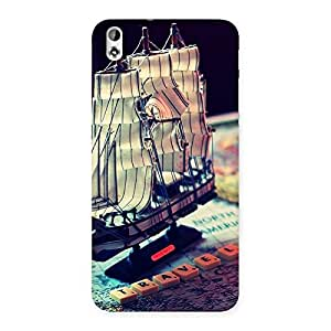 Ajay Enterprises ship of pirates Back Case Cover for HTC Desire 816s